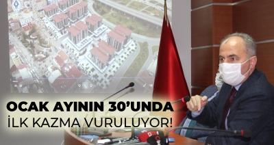 Başkan Metin'den Belediye Blokları ve Deniz Sitesi Açıklaması