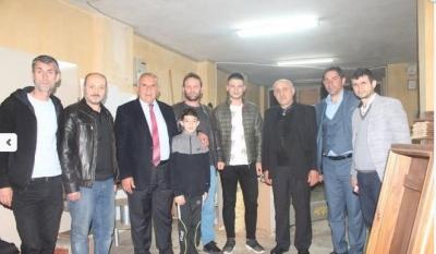 Başkan Serdar'dan Rize'de Esnaf Ziyareti