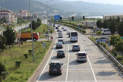 Bayram tatilinden dönen sürücülere uyarı