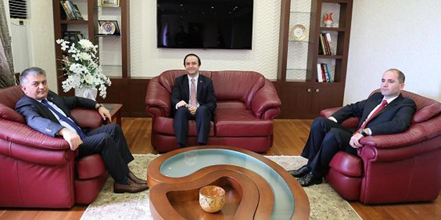 Rize Batum Başkonsolosu'nu Ağırladı