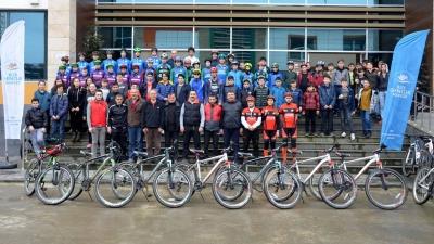 Bisiklerçiler'den Kurtuluş Çoşkusuna Özel Yarışma