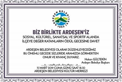 BİZ BİRLİKTE ARDEŞEN'İZ