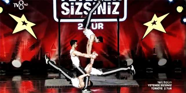 Rize Street Workout'dan muhteşem gösteri