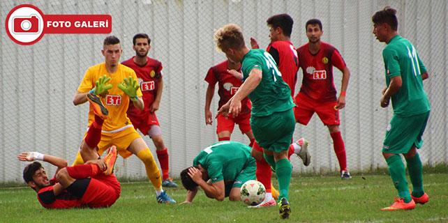 Çaykur Rizespor U19: 0 - Eskişehirspor U19: 2