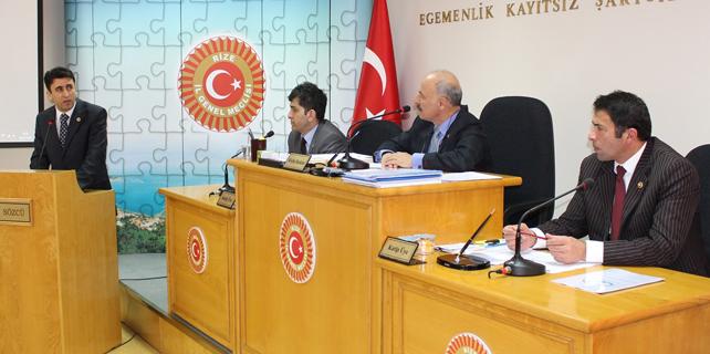 2014 yılı faaliyet raporu kabul edildi