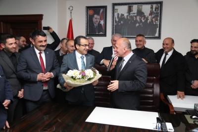 Çayeli Belediye Başkanı İsmail Hakkı Çiftçi Göreve Başladı