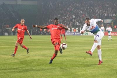 Çaykur Rizespor - Beşiktaş maçının özeti