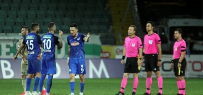 Çaykur Rizespor - DG Sivasspor Maçı Özgür Yankaya'nın