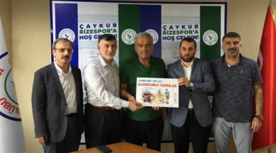 Çaykur Rizespor'dan Vekaletle Kurban Kampanyasına Destek
