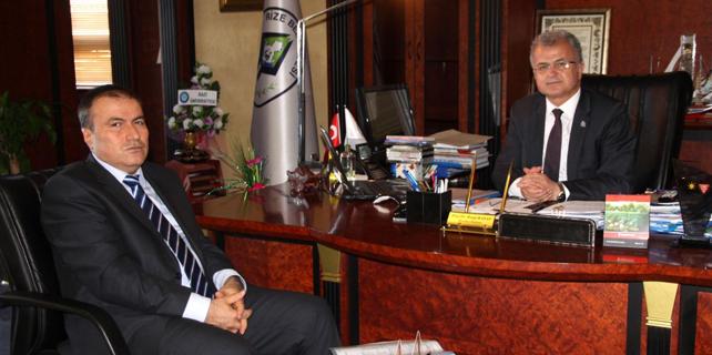 Çakıcı'dan Başkan Kasap'a nezaket ziyareti