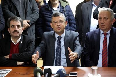 CHP Grup Başkanvekili Özgür Özel:54 milyon seçmenin oyuna millete hizmete talibiz.