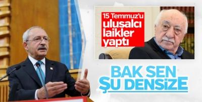 CHP lideri Atatürkçüleri suçlayan FETÖ'ye tepki gösterdi