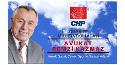 Chp Rize Milletvekili Adayı Remzi Kazmaz'dan Meydan Projesi Eleştirisi