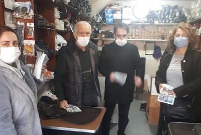 CHP'den Asgari Ücret ile ilgili Rize' de broşür dağıttı!