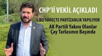CHP'li Kaya: İstanbul'dan Rize'ye gelenler var