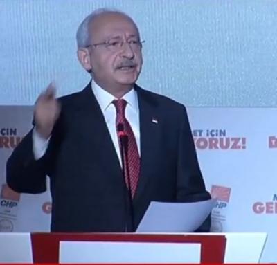 CHP'nin seçim bildirgesi açıklandı