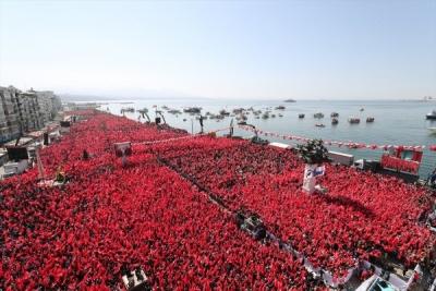 Cumhur İttifakı'nın ilk ortak mitingi İzmir'de