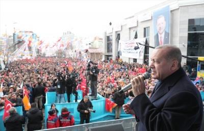 Cumhurbaşkanı Erdoğan Ardahan'da