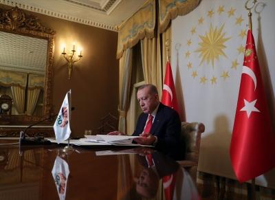 Cumhurbaşkanı Erdoğan, G20 Zirvesi'ne video konferansla seslendi