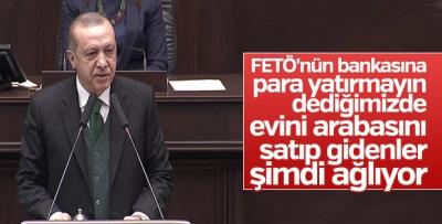 Cumhurbaşkanı Erdoğan AK Parti grup toplantısında Açıklamalarda Bulundu