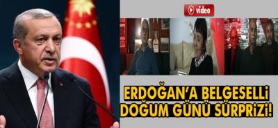 Cumhurbaşkanı Erdoğan'a Doğum Günü İçin Belgesel Hazırlandı