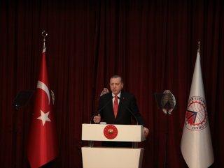 Cumhurbaşkanı Trabzon Ticaret ve Sanayi Odası'nda konuştu
