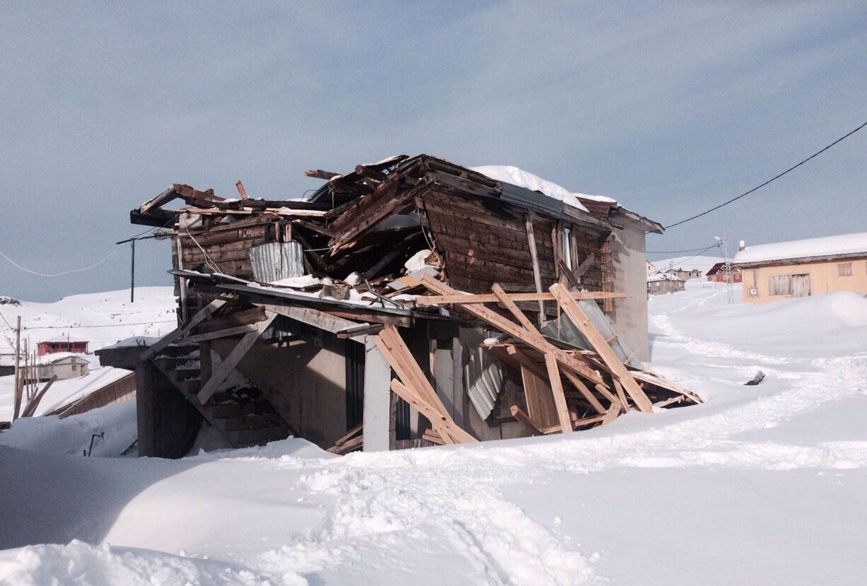 İkizdere'de 125 ev hasar gördü