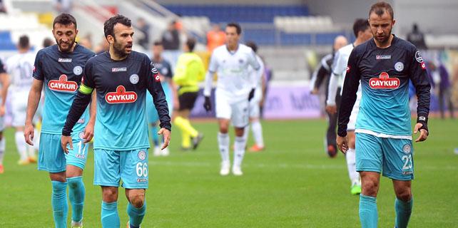 Rizespor 3 puanı 3 golle kaybetti