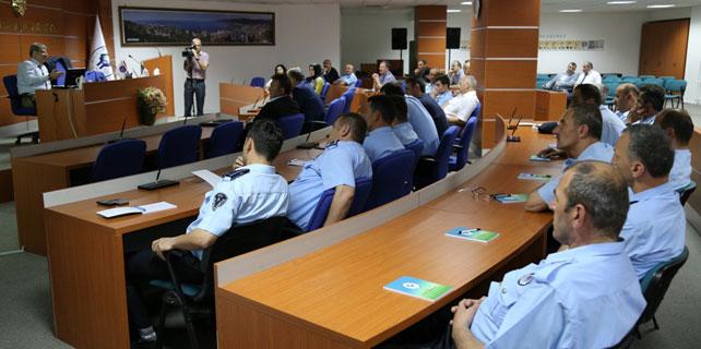 Rize'de zabıta personeline eğitim verildi