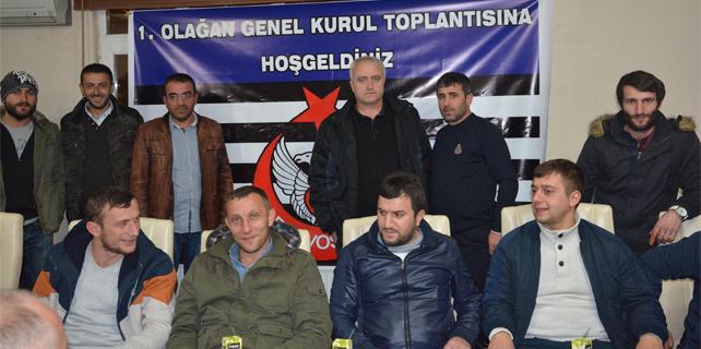 Çayeli Arsovos Spor ilk kongresini yaptı