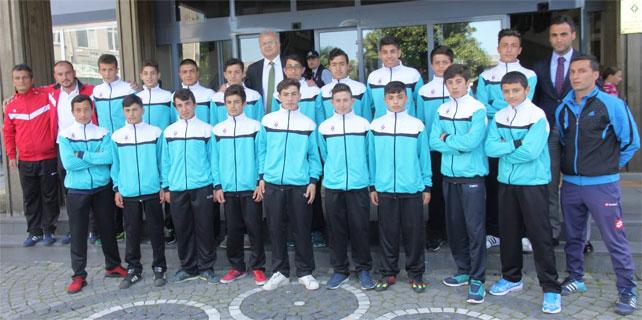 Rize Belediyespor U14 Gümüşhane'ye uğurlandı