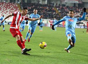 DG Sivasspor ile Çaykur Rizespor 17. Randevuda
