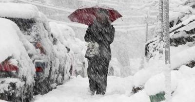 Doğu Karadeniz İçin Kar Yağışı Uyarısı