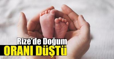 Doğu Karadeniz'de doğum oranı düştü