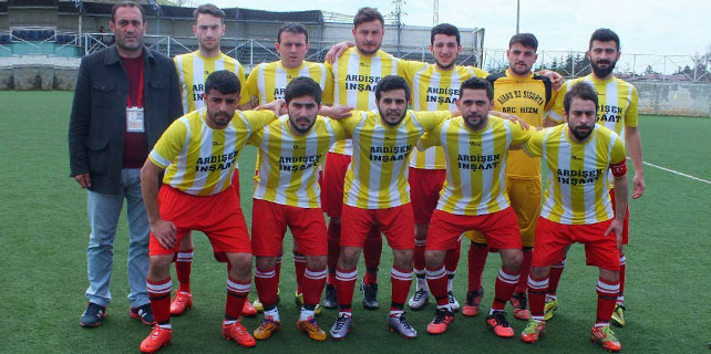 Salarhaspor 7 golle yedide yedi yaptı
