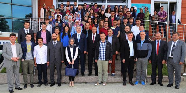 Başkan Kasap Aday Öğretmenlerle bir araya geldi