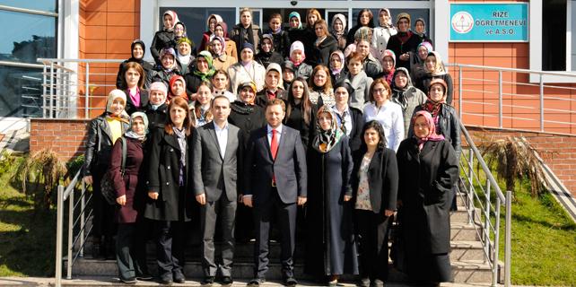 İl Başkanı Avcı kadın kollarıyla bir araya geldi
