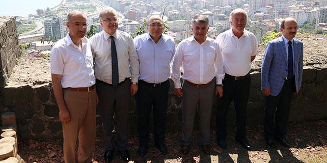 Kültür ve Turizm Bakanlığı Müsteşarı Rize'de