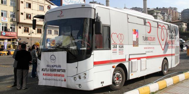 Kan Bağışı Kampanyasına destek çağrısı