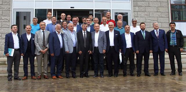 RTEÜ Mütevelli Heyeti Rize'de toplandı