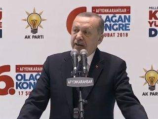 Erdoğan: Kardeşlerimizin topraklarına yerleşmesini istiyoruz