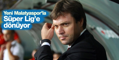 Ertuğrul Sağlam Yeni Malatyaspor'la Süper Lig'e dönüyor