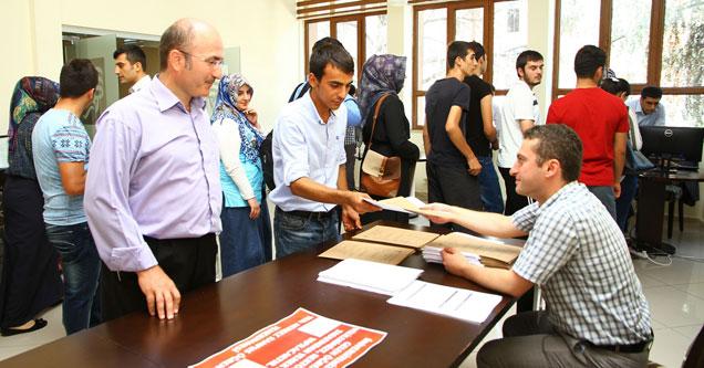 RTE Üniversitesinde öğrenci kayıtları başladı