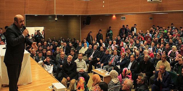 "Ardeşen'de ""Kutlu Nebi, Kutlu Zaman"" konferansı"