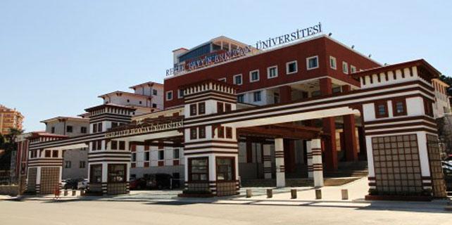 RTEÜ'de 11 personel açığa alındı, 13 dekan istifa etti