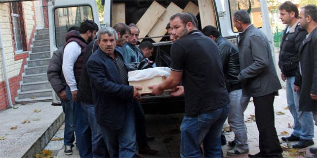 Rize'deki göçükte ölen işçinin cenazesi Ordu'da