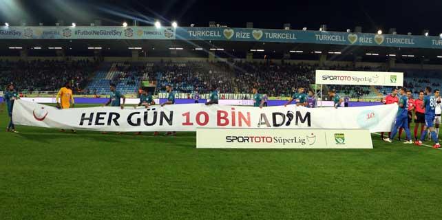 Süper Lig takımlarından obeziteyle mücadele desteği