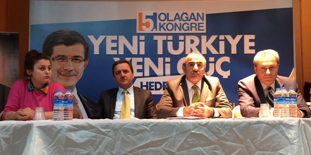 İkizdere Ak Parti'de Yeni Başkan Ahmet Aksu oldu