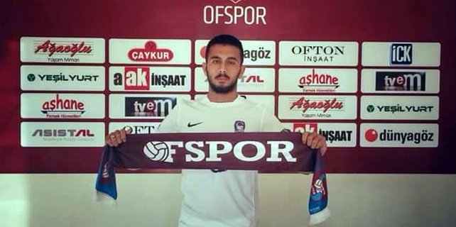 Rizesporlu futbolcu Ofspor'a imza attı