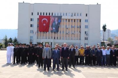 Gaziler Günü Dolayısıyla Rize'de Tören Düzenlendi
